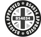 BS4034 Approved