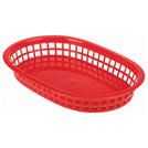 Fast Food Basket Red 27.5 x 17.5cm