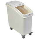 Polypropylene Mobile Ingredient Bin with Scoop 81L