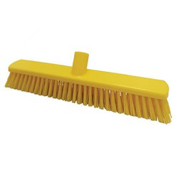 380mm Floor Brush Stiff Yellow