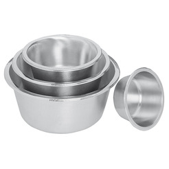 Mixing Bowl Flat Bottomed S/S 8ltr 30cm