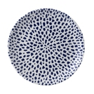Terrazzo Blue Coupe Plate 11.25in