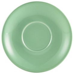 Royal Genware Saucer 13.5cm Green