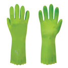 Polyco 374/5/6 Pura Lined Green PVC Glove