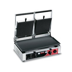 Sirman PD LR-LR T Double Panini Grill Flat/Ribbed