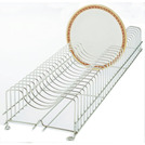 Plate Rack Stainless Steel Holds 30 Plates