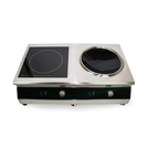 Ind Energy QX-TPA Twin Zone Combi Flat&Wok Ind Hobs