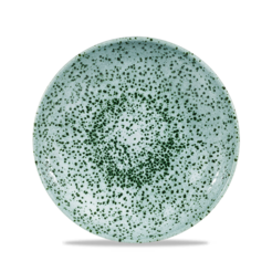 Mineral Green Evolve Coupe Plate 8.67 inch