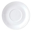Monte Carlo Saucer For B4307WH White 16.5cm