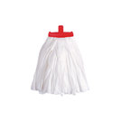 Prairie Big White Kentucky Mop Head Red
