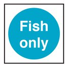 Fish Only Catering Vinyl Sticker