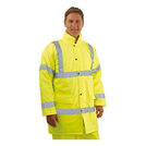 Keep Safe Hi-Vis Yellow Traffic Jacket