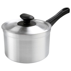 Saucepan Medium Duty Alum 4ltr 20cm With Lid