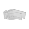 Clear Polycarbonate Shelf Clamp 50mm