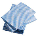 Dish Cloth Disposable Blue