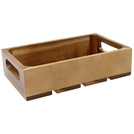 1:1 Gastro Serving & Display Crate, Acacia.