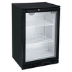 Blizzard BAR1 Bottle Cooler 1 Hinged Door Black
