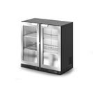 IMC F82/090SL Bottle Cooler Double Door Silver Door
