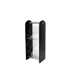 2 Tier Condiment Stand Acrylic Black