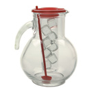 Glass Cooler Jug 3 3/4pt