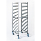 Stackable Gastronorm Storage Trolley - 20 Tier 2/1GN