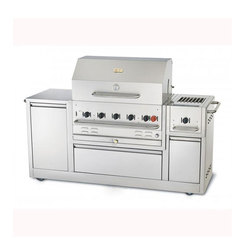Crown Verity MBI80 Outdoor Barbecue Kitchen