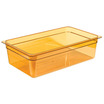 Gastronorm Container High Heat 1/1 150mm Amber