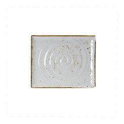 GN Craft White 1/2 Rect Platter 325x265mm