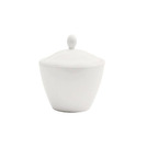 Simplicity Harmony Sugar Bowl Covered White
