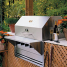 Crown Verity Built In Barbecue Grill 860x533mm