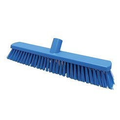 380mm Floor Brush Stiff Blue