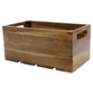 1:3 Gastro Serving & Display Crate, Acacia.