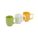 Dignity Mug Yellow Ceramic 25cl
