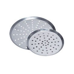 Perforated Pizza Pan, Tapered Sides 9 x 0.75 inch