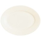 Intensity Plate Oval White 26 x 35cm