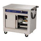 Victor Plain Top Mobile Hotcupboard 1285mm