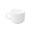 Alchemy White Cup Stackable 20.6cl