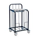 Tray Pick-Up Trolley Painted Frame 100 Trays
