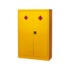 Hazardous Storage Cupboard - 2 Doors, 3 Shelves