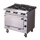 Falcon Chieftan Gas Range 4 Burner Heavy Duty