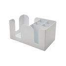 Bar Caddy White 24x14x10cm