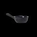 Illogical Black Frying Pan 2 3/4 x 1 Inch
