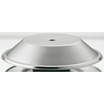 Plate Warmer Cover S/S Round With Lifting Hole
