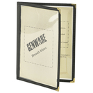 American Style Clear Menu Holder A5 2pg
