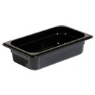 Gastronorm Container Poly 1/4 65mm Black
