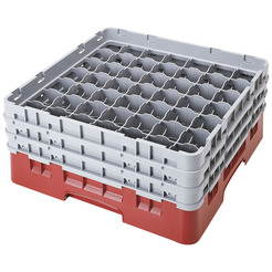 Camrack Glass Rack 36 Compartments Cranberry