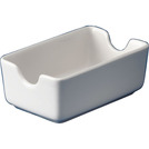 Whiteware Sugar Sachet Holder 11.7cm