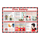 Fire Safety Poster 42x59cm