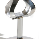 Table Number Stand Stainless steel 10cm