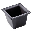 Miniatures Bowl Square Black 6.5 x 6.5cm 5cl